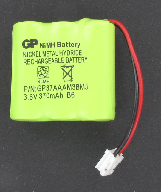 BATTERIE TELEPHONE T1B337 3.6V 400mAh 3x2/3LR03 CONNECTEUR J