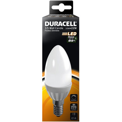 AMPOULE LED E14 3.5Watt 220 LUMENS (BOUGIE OPAQUE)
