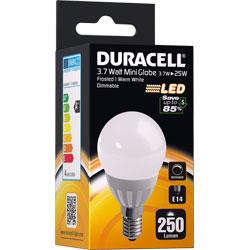 AMPOULE LED E14 3.7Watt 250 LUMENS (GLOBE MATE)