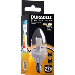 AMPOULE LED E14 3.7Watt 275 LUMENS (BOUGIE TRANSLUCIDE)