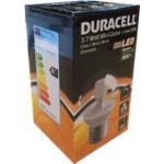 AMPOULE LED E27 3.7Watt 275 LUMENS (GLOBE TRANSLUCIDE)