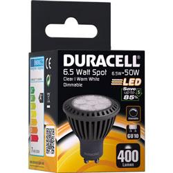AMPOULE SPOT LED GU10 6.5Watt 400 LUMENS