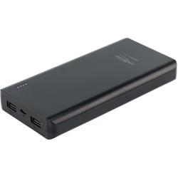 Batterie de secours Powerbank 20800mAh deux ports USB
