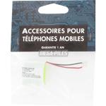BATTERIE TELEPHONE T104M 2.4V 600mAh 2x1/2LR06 connecteur U