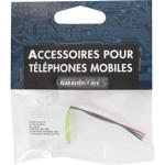 BATTERIE TELEPHONE T330 2.4V 750mAh 2x1/2LR06 connecteur J 3 fils