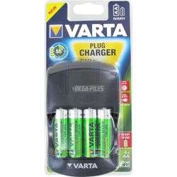 CHARGEUR 5H 4 PILES + 4 AA NiMH 2100mAh