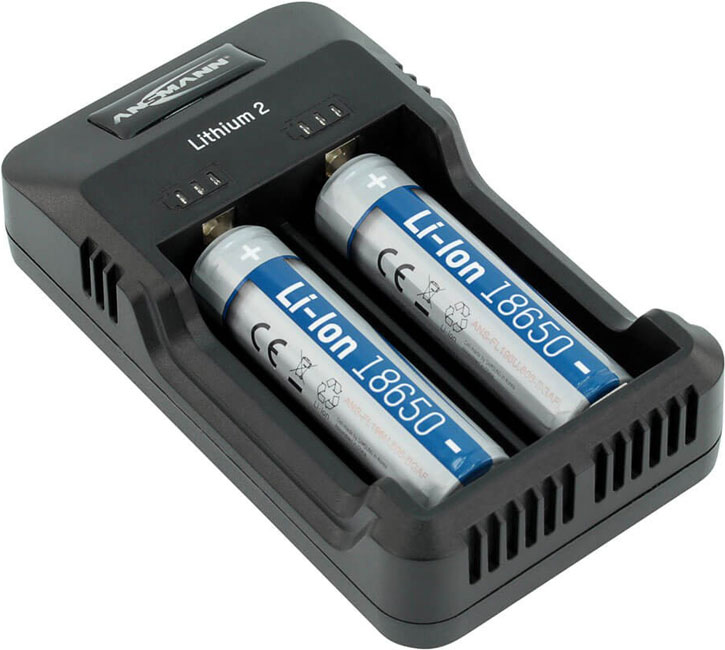 CHARGEUR BATTERIES LI-ION 3,6V