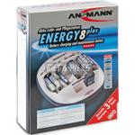 CHARGEUR DE PILES ENERGY 8PLUS 6x AA ou 6x AAA ou 4x C ou 4x D & 2x 9V