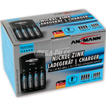 CHARGEUR DE PILES NiZn 4x AA NiZn 1.6V ou 4x AAA NiZn 1.6V
