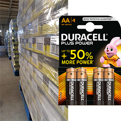 Duracell AA Plus power blister de 4