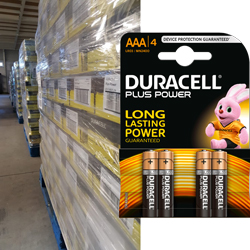 Duracell AAA Plus power blister de 4