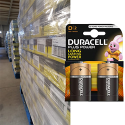 Duracell D Plus power blister de 2