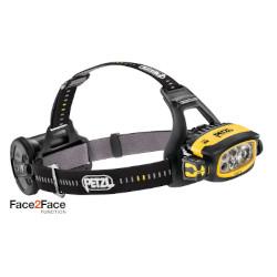 Lampe frontale Petzl DUO S ultra-puissante, étanche et rechargeable - 1100 lumens