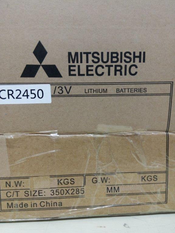 Lot de piles CR2450 Mitsubishi