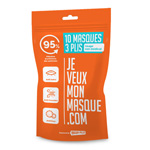 Masque chirurgical antiprojections (sachet de 10)