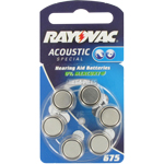 PILES 675 AUDITIVES 1.4V 630mAh RAYOVAC