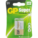 PILE 6LR61 SUPER ALCALINE PP3 9V x1