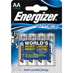 PILE AA FR6 L91 LITHIUM ULTIMATE 1.5v x4 ENERGIZER