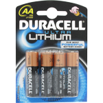 PILE AA FR6 LITHIUM ULTRA LF1500 1.5v x4 DURACELL