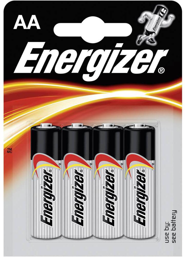 Pile Aa Lr6 Alcaline 1 5v X4 Energizer