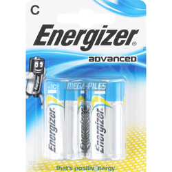 PILE ADVANCED LR14 C ALCALINE x2 ENERGIZER