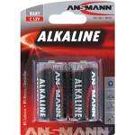 PILE ALCALINE R14 C 7200mAh x2