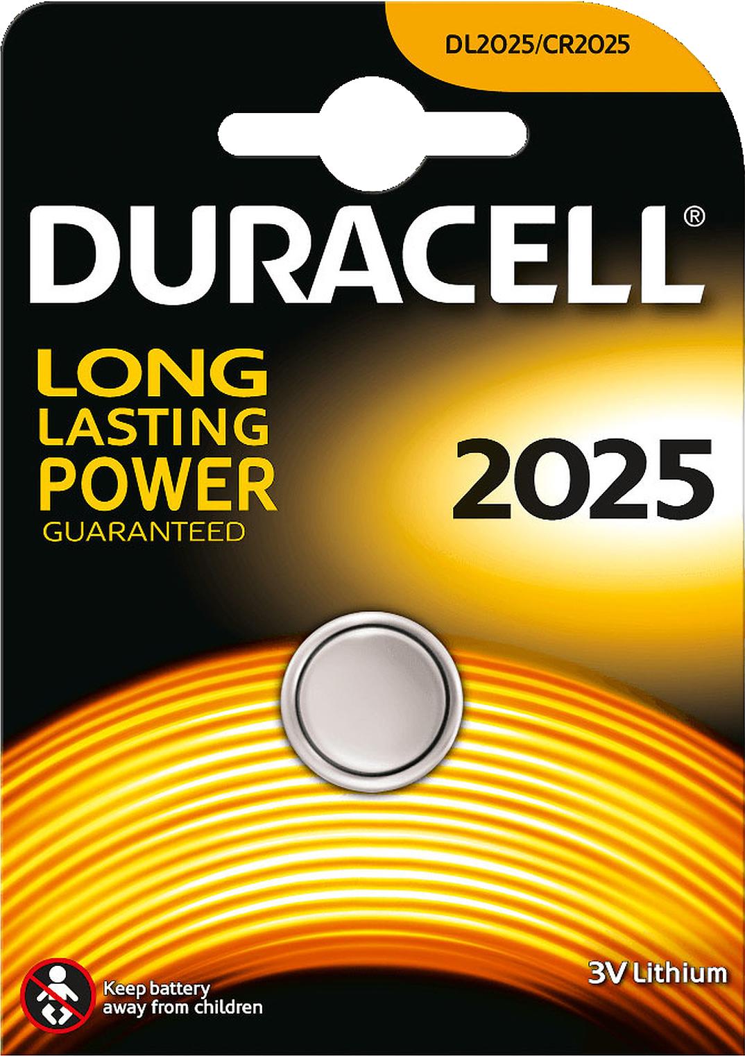 pile bouton lithium dl2025 3v duracell m ga piles. Black Bedroom Furniture Sets. Home Design Ideas