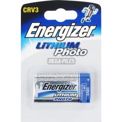 PILE CRV3 PHOTO LITHIUM 3V 3300mAh x1 ENERGIZER
