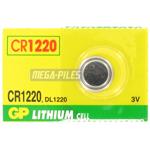 PILE CR1220 LITHIUM 3V GPCR1220 36mAh x1