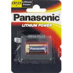 PILE CR123A LITHIUM POWER PHOTO 3V 1400mAh x1 PANASONIC