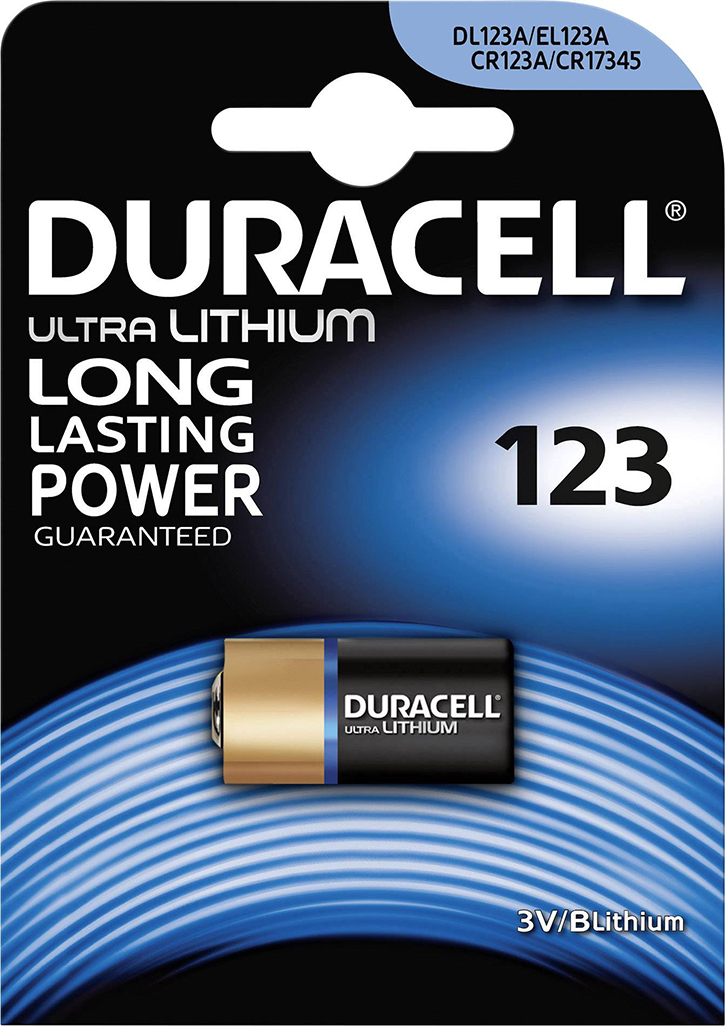 PILE CR123A LITHIUM PHOTO 3V 1400mAh ULTRA BLISTER x1
