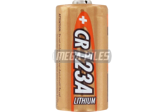 PILE CR123A LITHIUM PHOTO 3V 2/3A 1500mAh x1