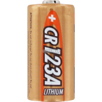 PILE CR123A LITHIUM PHOTO 3V 1500mAh x1