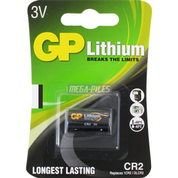 PILE CR2 LITHIUM PHOTO 3V 750mAh GP