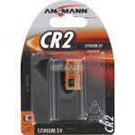 PILE CR2 LITHIUM PHOTO 3V 800mAh BLISTER x1 ANSMANN