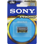 PILE CR2 LITHIUM PHOTO 3V SONY