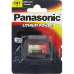 PILE CR2 PHOTO 3V 850mAh x1 PANASONIC