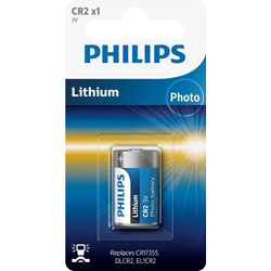 PILE CR2 PHOTO ULTRA 3V 750mAh x1 PHILIPS