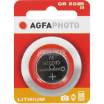 PILE CR2025 LITHIUM PHOTO 3V 150mAh x1 AGFA