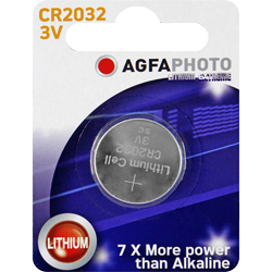 PILE CR2032 LITHIUM PHOTO 3V 220mAh x1 AGFA