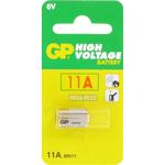 PILE GP11A 6V 1/3LR03 SUPER ALCALINE 38mAh BLISTER x1