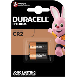 Pile lithium CR2 photo 3V 750mAh BL2 DURACELL