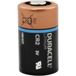 Pile lithium CR2 photo 3V 750mAh DURACELL