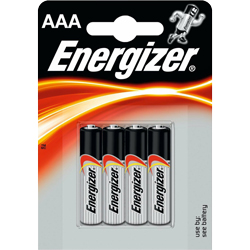 PILE LR03 ALCALINE AAA MN2400 1.5V x4 ENERGIZER