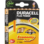 PILE LR03 ALCALINE PLUS POWER AAA MN2400 1.5V x18 DURACELL