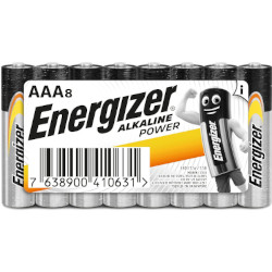 Pile alcaline LR03 Max AAA MN2400 1.5V BL8 ENERGIZER