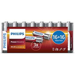 PILE LR06 1.5V POWER ALCALINE (32-shrink)