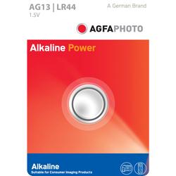 PILE LR44-AG13 ALCALINE 1.5V 145mAh BLISTER x1