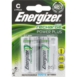 PILE RECHARGEABLE HR14 1.2V 2500mAh x2 ENERGIZER