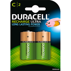 PILE RECHARGEABLE HR14 1.2V 3000mAh x2